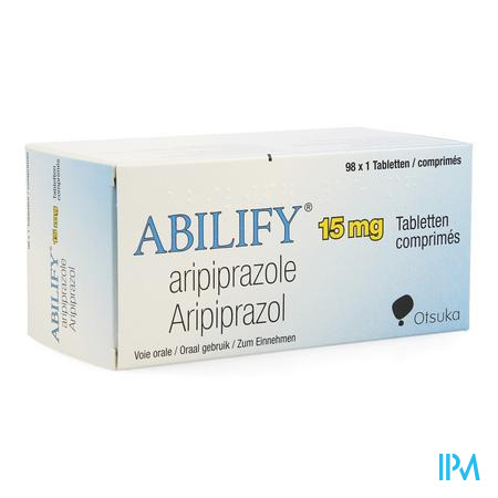 Abilify 15mg Pi Pharma Comp 98 X 15mg Pip