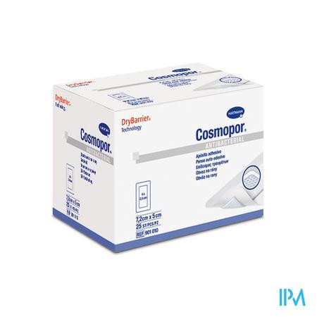 Hartmann Cosmopor Antibacterial Ster 9010001 7.5x5 cm  25 stuks