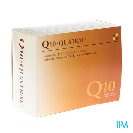 Farmawebshop - Q10 QUATRAL CAPS 2X84
