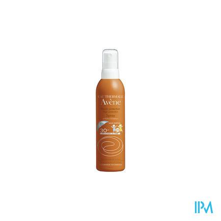 Afbeelding Avène Waterproof Zonnespray met SPF 30 voor Kinderen zonder Parfum 200 ml.