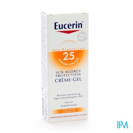 Eucerin Allergy Protection Sun Crème-Gel UV 25 150 ml