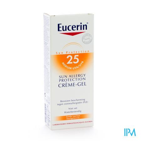 Eucerin Allergy Protection Sun Crème-Gel UV 25 150 ml