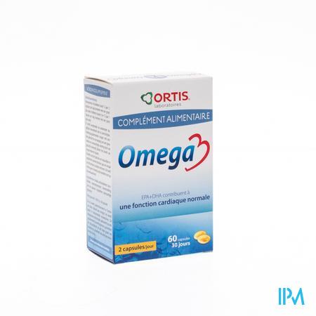 Ortis Omega 3 60 capsules