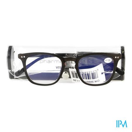 Pharmaglasses Visionblue Pc02 Leesbril +1.00 Brown