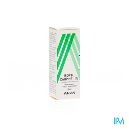 ISOPTO CARPINE 1% 15ML