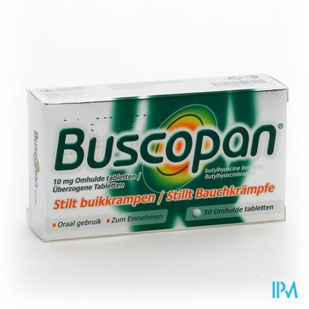 BUSCOPAN 10MG  50DRAG