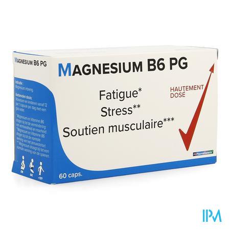 Magnesium B6 Pg Pharmagenerix Capsule 60