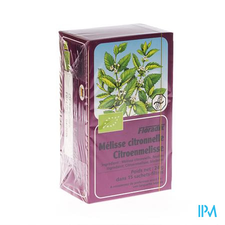 Salus Floradix Citroenmelisse 15 zakjes