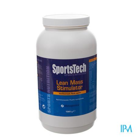 Sportstech Lean Mass Stimul Vanille 1355 g