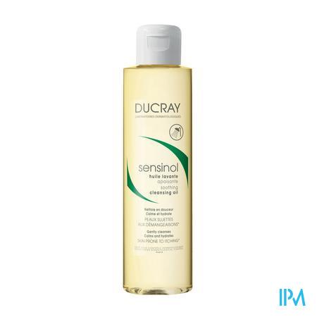 Afbeelding * Ducray Sensinol Kalmerende Reinigingsolie voor Droge en Jeukende Huid Flacon 200 ml.