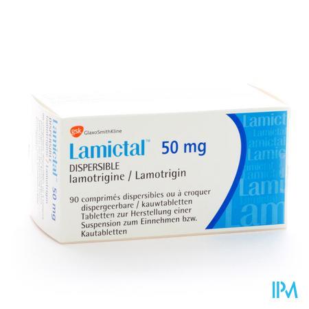 Lamictal Disp Tabl 90 X 50mg