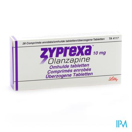 Zyprexa Comp Enrobe - Omhulde Comp 28 X 10mg