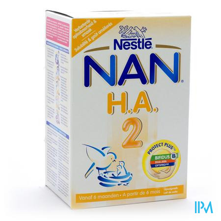 Farmawebshop - NAN HA 2 PRO 2LFTD PDR 750G