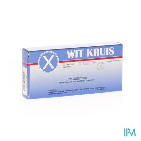 Wit Kruis Tabletten 20