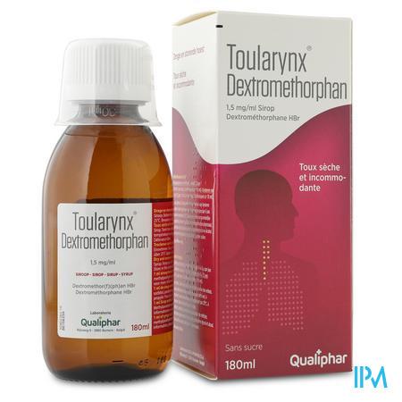 Toularynx Dextromethorphan Solution Or 180 ml