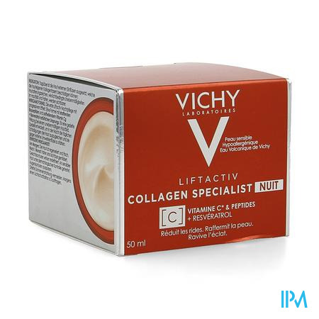 Vichy Liftactiv Collagen Specialist Nacht 50ml