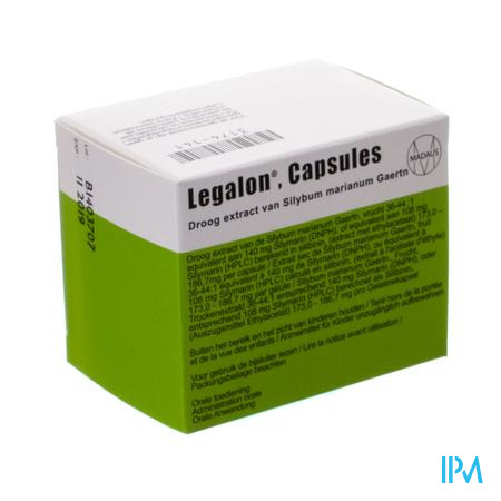 Legalon Impexeco 140mg Caps 60 Pip