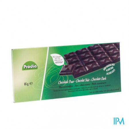 Prodia Chocolat Noir + Stevia 85 g