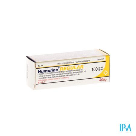Humuline Regular Fl 10ml 100iu/ml