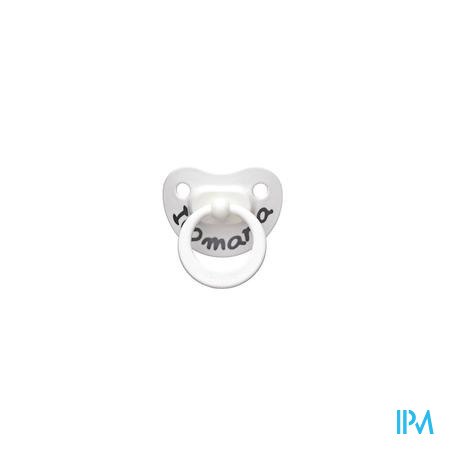 Bibi Dental Fopspeen 6M I Love Mama 1 stuk