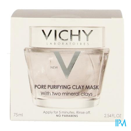 Vichy Purete Thermale Zuiverend Masker 75ml