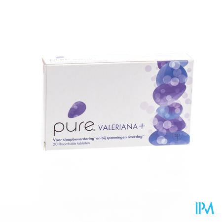 Pure Valeriana Plus 20 tabletten