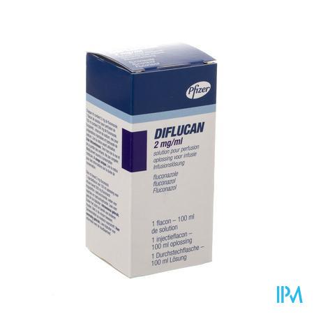 Diflucan Iv 1 Amp 2mg/ml 100ml