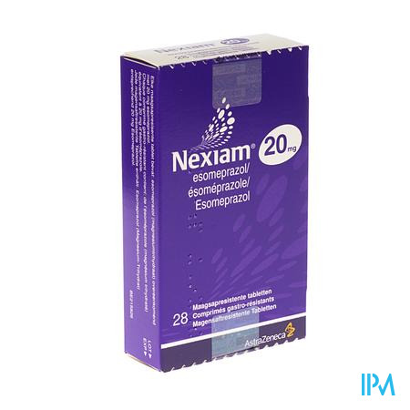 Nexiam 20mg Comp 28 X 20mg