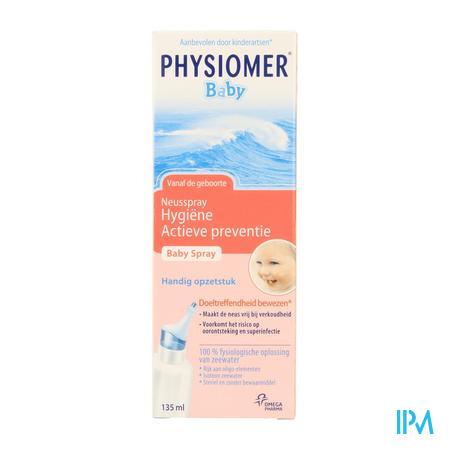 Farmawebshop - PHYSIOMER ISO BABY SPRAY 135ML