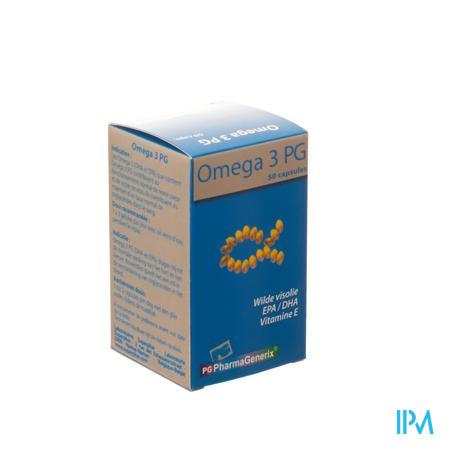 Pharmagenerix Omega 3 Pg 50 capsules