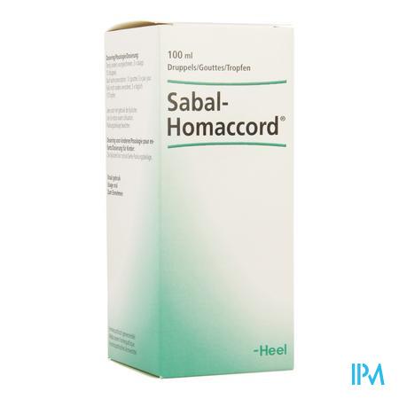 Sabal-homaccord Gouttes 100 ml Heel
