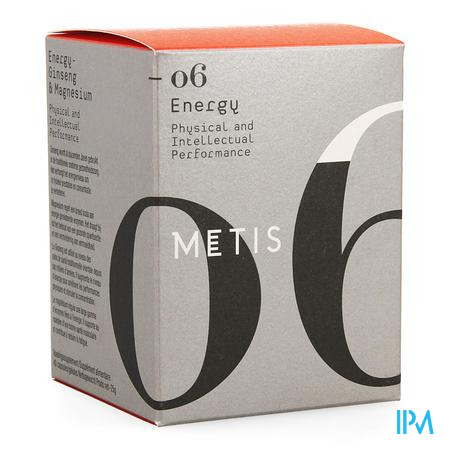 METIS ENERGY 06             CAPS 40                (complément alimentaire)