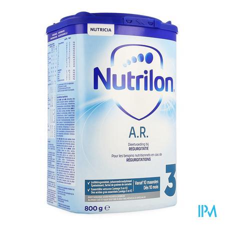 Nutrilon Ar3 Opvolgmelk A/regurgitatie Pdr 800g