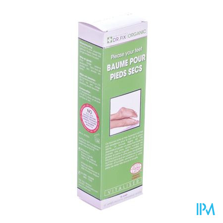 Dr Fix Organique Pieds Seches 75 ml baume