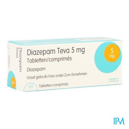 Diazepam Teva Comp 60x 5mg