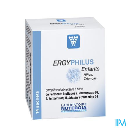 Ergyphilus Enfant Pdr Sach 14x2g