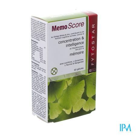Biostar Memo-score Plantaardig Caps 60x535mg