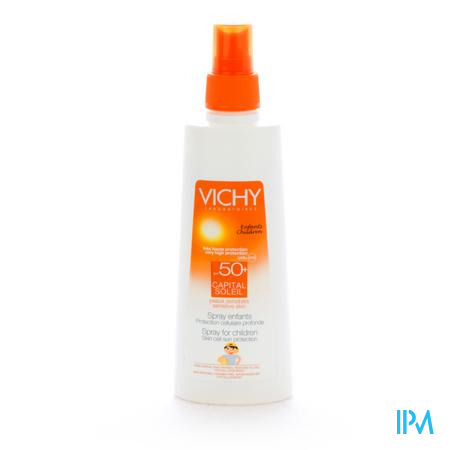 Vichy Capital Soleil Spray Solaire Enfants Spf 50+ 200 ml