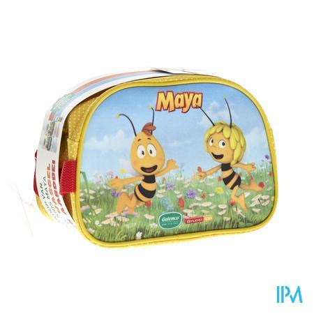 Galenco Kids Maya Toilettas (Shampoo+Wasgel+Lipstick Aardbei) 3 stuks