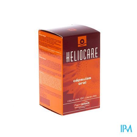 Heliocare Oral Huidbesch.uva-uvb A/age Pot Caps 60
