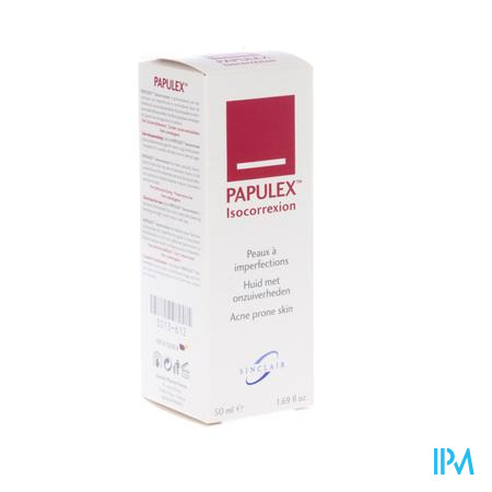 Papulex Isocorrexion Creme Tube 50ml