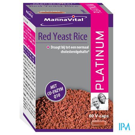 Mannavital Rode Rijst Gefermenteerd + co Enzyme Q10