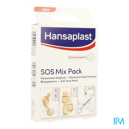 HANSAPLAST SOS KIT PANSEMENT AMPOULES      STRIP 6