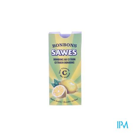 Afbeelding Sawes Citroen Bonbons met Vitamine C zonder Suiker 10 Stuks.