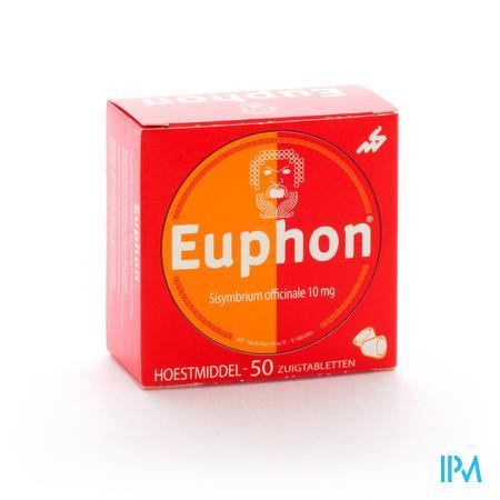 Afbeelding Euphon 50 zuigtabletten.