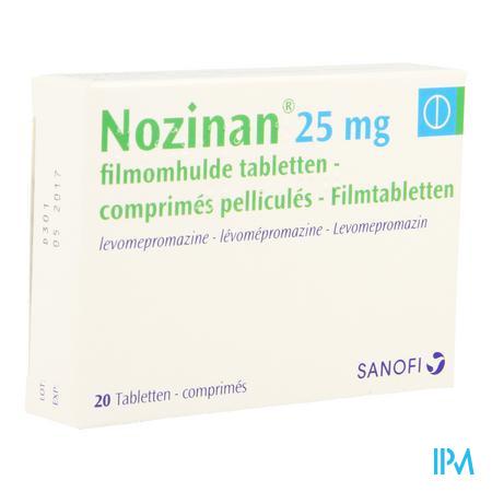 Nozinan Comp 20 X 25mg