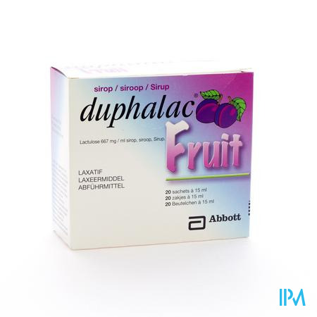 Duphalac Fruit Sir Sach 20 X 15ml