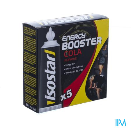 Isostar Energy Booster Cola 5x20 g