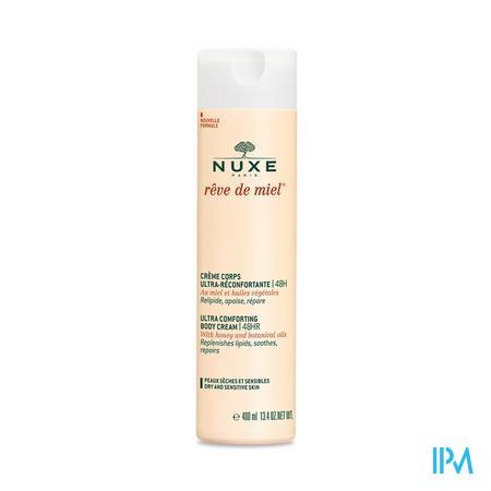Afbeelding Nuxe Rêve de Miel Promo Ultra-Verzachtende Lichaamscrème 400 ml + Overvette Reinigingsgel voor Gelaat en Lichaam 400 ml.