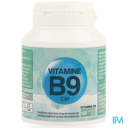 Vitamine B9 Cbf Comp 180